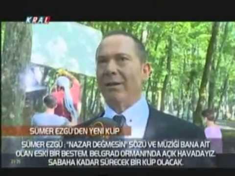 Sümer Ezgü, yeni albümü Electro Türkü House'un ikinci klibini 'Nazar Değmesin'e çekti.