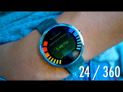 24 hours with the Moto 360 | Pocketnow