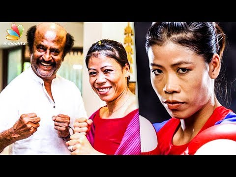 Boxing Champion Mary Kom meets Superstar Rajinikanth | Hot Tamil Cinema News