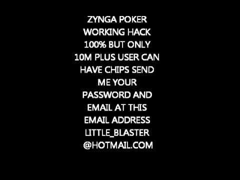 Zynga poker hack without password