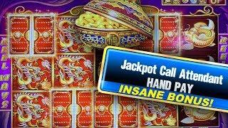 BIG $88 BETS ★ 5 TREASURES HIGH LIMIT ➜ JACKPOT HANDPAY
