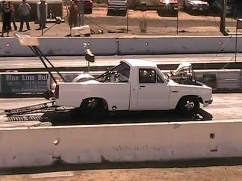 Ford Courier Drag Truck Youtube