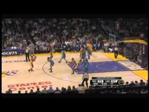 Kobe Bryant dunks on Emeka Okafor then Carl Landry [HD] 4/26/11