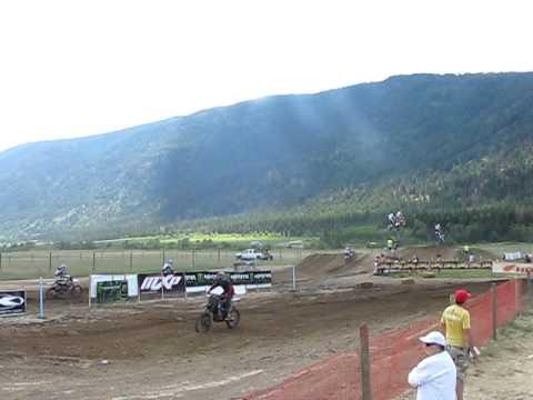 Motocross Whipsering Pines Monster Energy