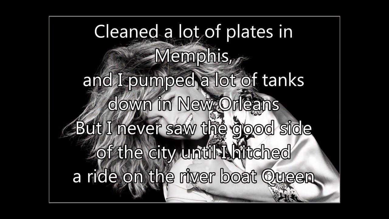 Tina Turner Mary 1960 Proud