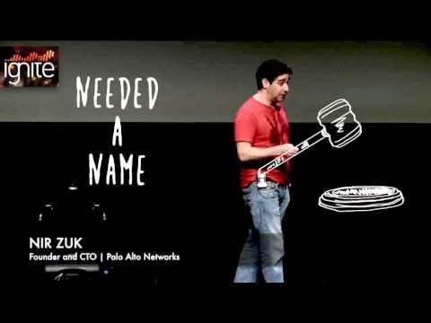 Nir Zuk on naming Palo Alto Networks