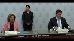 PK Arbeitsminister Heil und  Ministerpräsidentin Malu Dreyer
