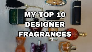 Top 10 Designer Fragrances | Perfume Collection