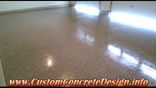 Decorative Concrete Epoxy Garage Floor In Lake Ozark Mo Sunrise Beach Camdenton