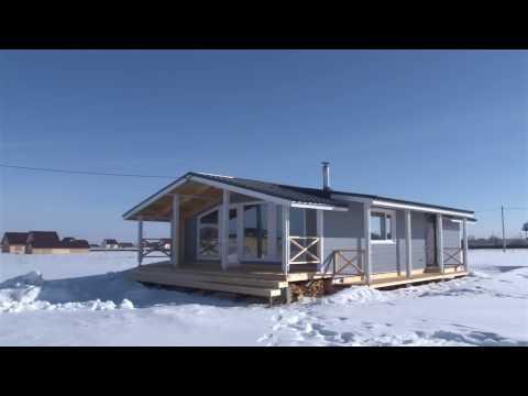 Видео интерьеров и экстерьеров дома серии Домант