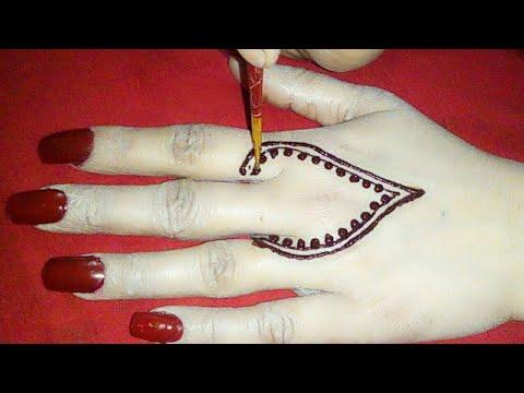 Beautiful Mehndi design for back hands||Simple mehndi designs||Mehndi designs 2018||mehndi designs