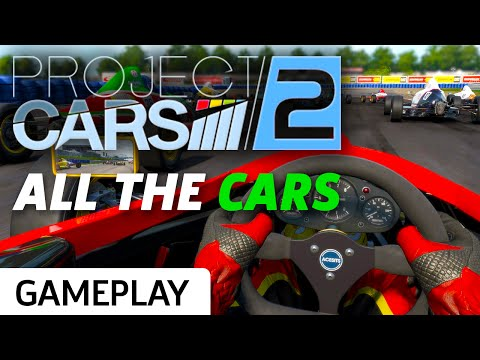 Project Cars 2 - All The Cars