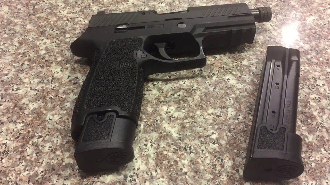Sig Sauer P320 9mm 21Rd Extended Magazine