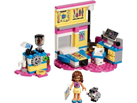 Lego Friends 41329 Olivias Deluxe Bedroomsypialnia Olivii