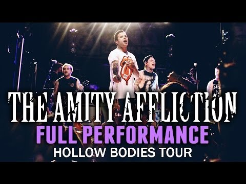 The Amity Affliction - FULL SET! LIVE! Hollow Bodies Tour