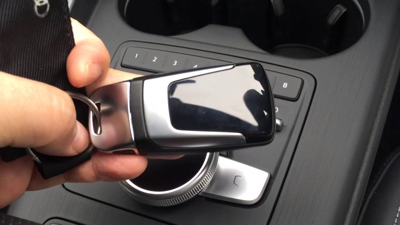 new Audi A4 MMI & Advanced key - YouTube