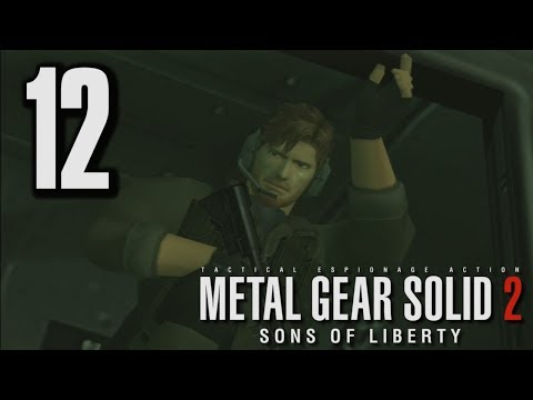 Let's Play Metal Gear Solid 2 HD #12 - I'm Counting On You
