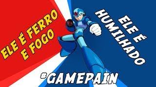ELE É FERRO E FOGO! ELE É HUMILHADO - MEGAMAN X - #GamePain
