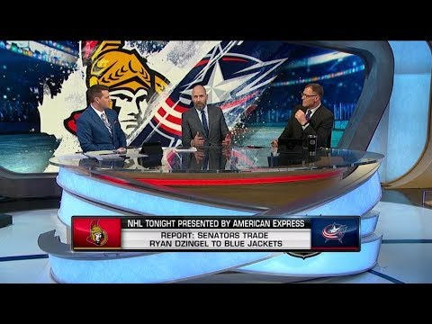 NHL Tonight  Discussing the Ottawa - Columbus trade   Feb 23,  2019
