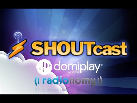 Shoutcast Winamp radionomy domiplay sencillo