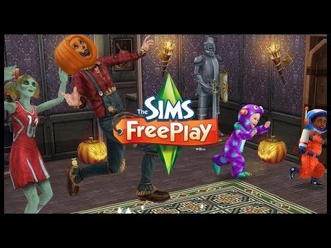 The sims freeplay: A NOITE DOS MONSTROS DE DOCE |NOVA ATUALIZAÇAO#6