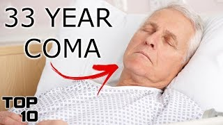 Top 10 People Currently In The Longest Coma