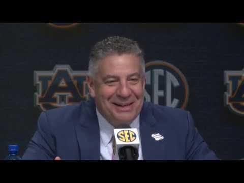 Auburn SEC Basketball Tournament press conference after win over South Carolina