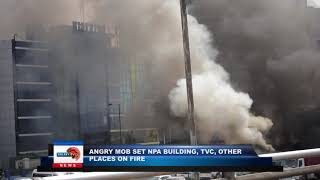 Download Mp3 Angry Mob Set Npa Building, Tvc, Other Places On Fire