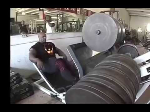 Leg Press Ronnie Coleman 1043 Kg Youtube