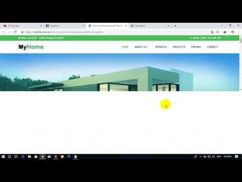 How To Make Real Estate Website In HTML And CSS Full Tutorial By Pen Samol In Khmer