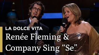 """Se"" from Cinema Paradiso with Groban, Fleming and Bell"