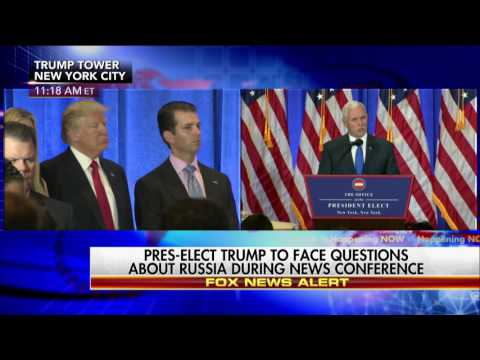 Opening Statements at Donald Trump's Jan. 11, 2017, Press Conference