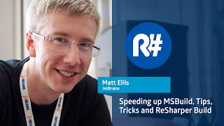 Speeding up MSBuild, Tips, Tricks and ReSharper Build