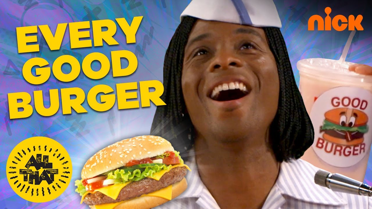 Download Every Good Burger EVER ft. Kel Mitchell 🍔 All That