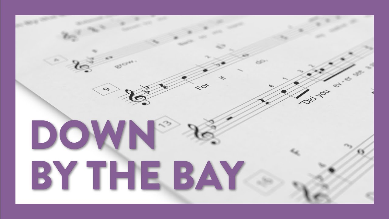 down by the bay - piano lesson 207 - hoffman academy - youtube  youtube