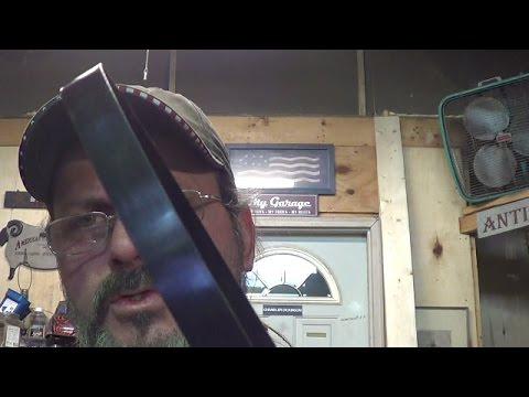 Blacksmithing - Forge Welding Banding Straps Into A Different Kind of Band