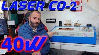 Laser CO2 de 40w -- Merece la pena?