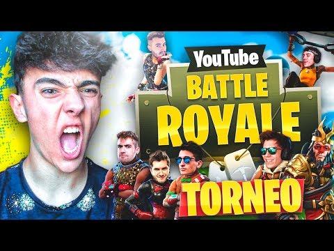 Agustin51 EN EL GRAN TORNEO DE YOUTUBERS en FORTNITE: Battle Royale!!
