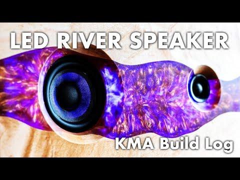LED Epoxy River Bluetooth Speaker | DIY Build Log