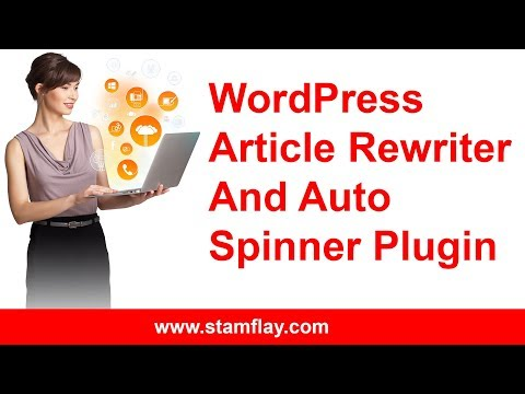 How to add auto Text Spinner on WordPress Article Rewriter and Auto Spinner Plugin