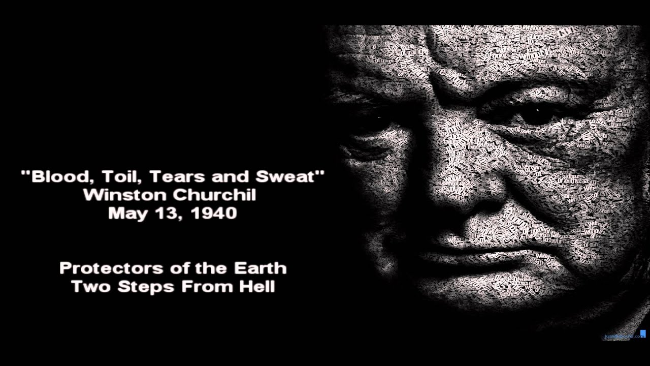"blood toil tears and sweat speech rhetorical analysis This speech is often misquoted as ""blood sweat and tears"" it was winston churchill's first speech as prime minister may 13, 1940 to the house of commons."