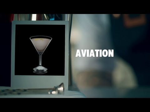 AVIATION DRINK RECIPE - HOW TO MIX