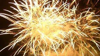 Japantag 2014 - Düsseldorf - Vuurwerk - Feuerwerk