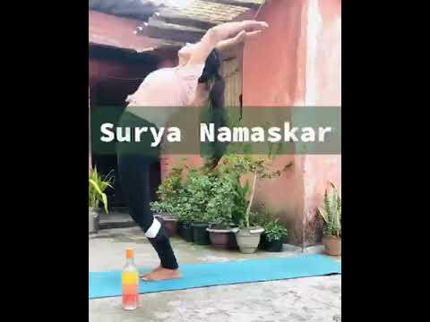 surya namaskar type1 for beginners  surya namaskar kaise