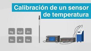 ¿Cómo calibro un sensor de temperatura? | Calibración comparativa vs....