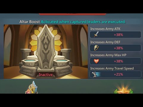 My Altar Boost Is GONE!!! Lords Mobile