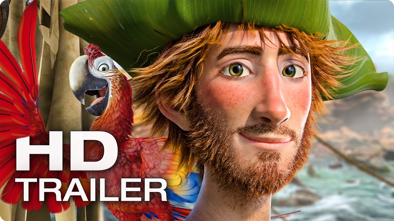 ROBINSON CRUSOE Trailer German Deutsch (2016)