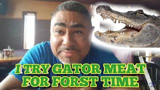 I Eat Gator Meat (Gator Bites) For First Time In My Life