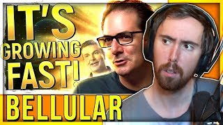 """Asmongold Reacts to """"Classic's INSANE Growth, Blizz KILL LFG, TBC Servers """"A Lot Easier"""" by Bellular"""