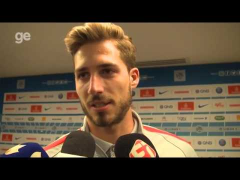 Kevin Trapp interview in portuguese
